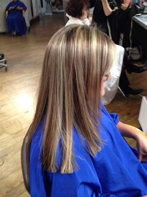 picyures of blonde high low lights blonde and golden honey brown high and low lights hair