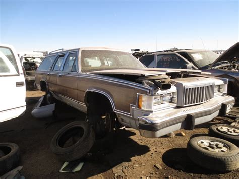 mercury grand marquis review the truth about cars junkyard find 1985 mercury grand marquis ls colony park station wagon the truth about cars