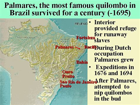 brazil was home to this colony of runaway slaves 28