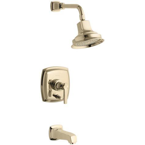 Handle Set Pasini P 805 07 A Lockset Kend kohler margaux 1 handle rite temp tub and shower faucet trim kit in vibrant gold valve