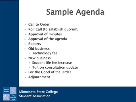 sample general meeting minutes pto today