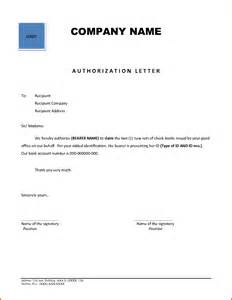 Authorization Letter Operate Bank Account how to write authorization letter sample authorization letter1 png