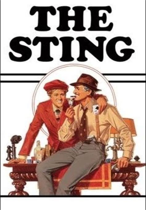 the sting of the books the sting tv on play