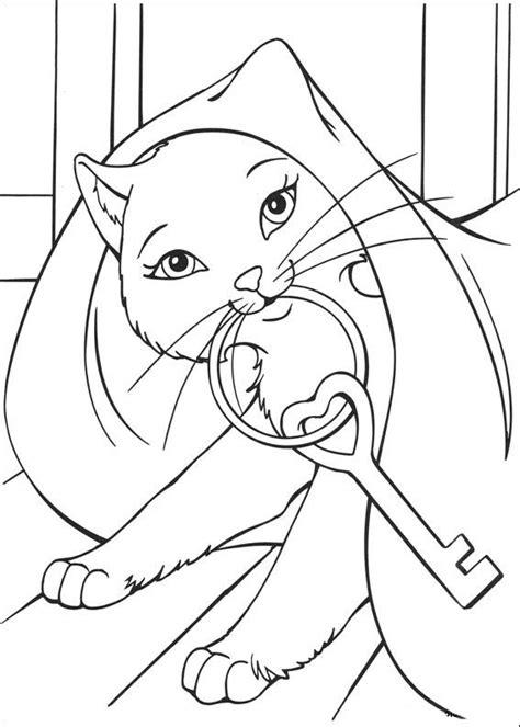 desenho pintar barbie castelo de diamante | Páginas para