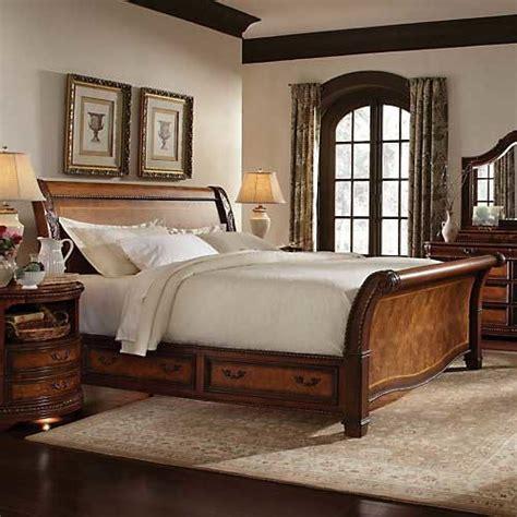 aspen home napa king sleigh storage bed baskets