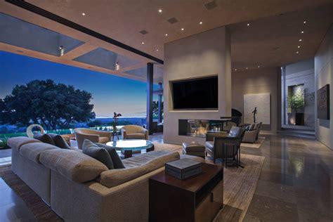 luxury modern living room interior design san francisco modern luxury estate with views of the san francisco bay