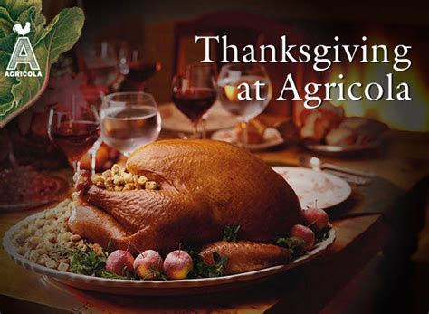 8 Courses For The Thanksgiving by Thanksgiving Day Dining At Agricola Nj