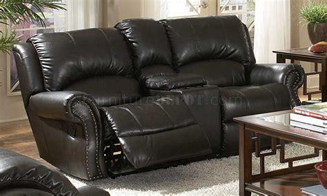 black leather recliner sofa set black bonded leather sofa loveseat set w recliner seats