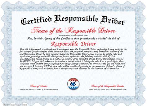 driving certificate template safe driver award certificates memes