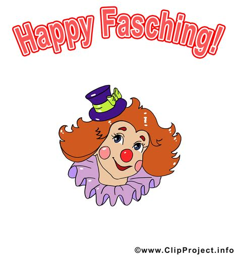 clipart gallery fasching clipart clown illustration
