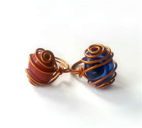 make gemstone jewelry wire wrapped gemstone rings allfreejewelrymaking