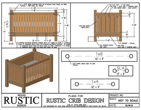 Blueprints For Baby Crib Plans For Baby Cribs Woodworking Projects Plans