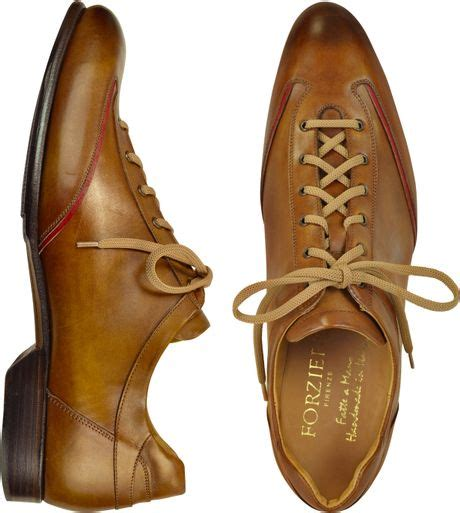 Handmade Italian Leather Mens Shoes - forzieri s brown handmade italian leather lace up