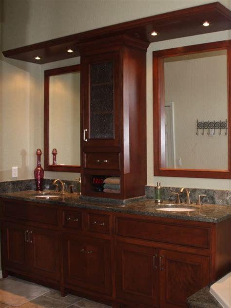hand crafted master bath vanity  aakb inccustom