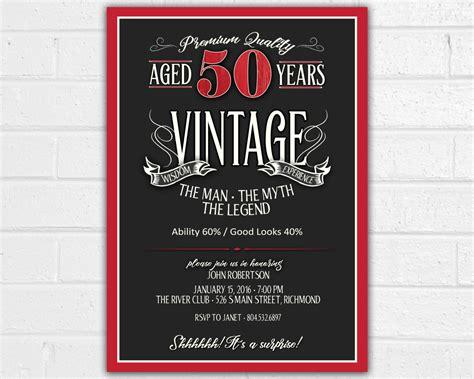 free printable 50th birthday invitations templates 50th birthday invitation for jpeg printable aged to