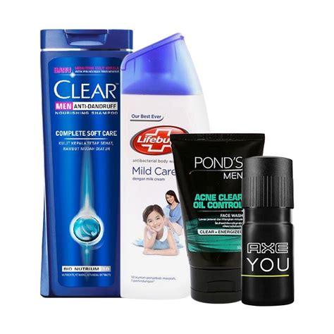 Bio Spray Atasi Luka Dan Bau Badan Isi 4pcs jual paket travel ganteng shoo clear complete soft care sabun lifebuoy mild care