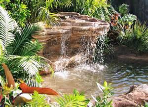 triyae backyard waterfalls kits various design