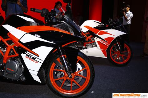 Ktm Rc 200 Price In India 2017 Ktm Rc 200 Rc 390 Launched In India At Rs 1 71 340