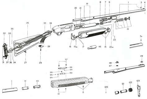 remington 870 diagram remington 1100 breakdown diagram marlin 336 breakdown
