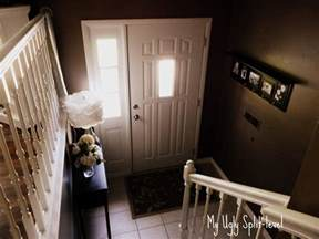 my foyer my ugly split level entryway