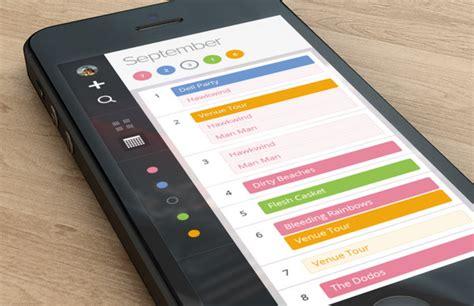 Calendar Mobile Well Groomed Vibrant Calendar Widget Designs For Mobile