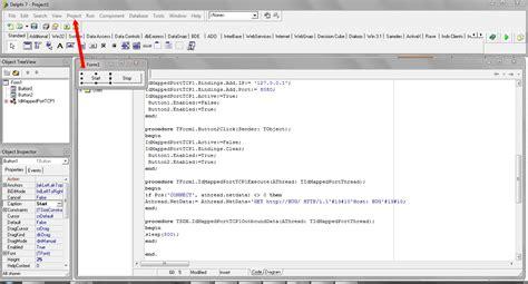 tutorial delphi7 tutorial cara buat inject delphi 7 akatsukihackblog