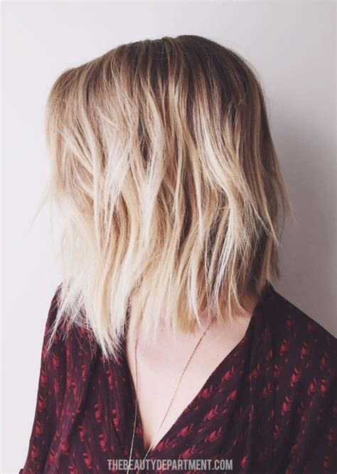 Medium Length Textured Bob | 15 shaggy bob haircut ideas for great style makeovers