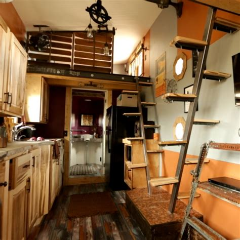 tiny house nation schedule modern day features are sprinkled throughout this