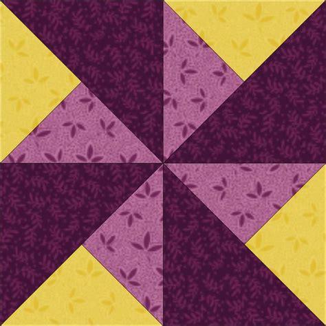 steppdecke farbig pinwheel block 3 color pinwheel quilting tutorial from