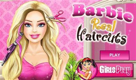 haircut games with barbie barbie real haircuts il gioco