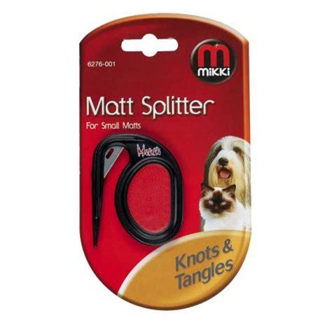 Mat Splitter For Dogs by Buy Mikki Coat Matt Splitter