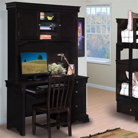 youth desk with hutch new classic youth single pedestal desk w hutch