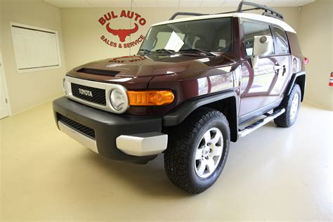 old car manuals online 2007 toyota fj cruiser user handbook 2007 toyota fj cruiser 1 owner super clean low miles rare manual stick shift stock 16076 for