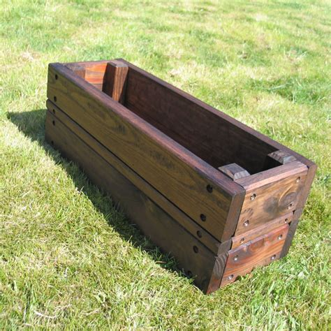 how to build rectangular planters http www