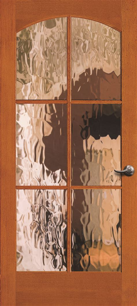 simpson interior french door  heavy water glass