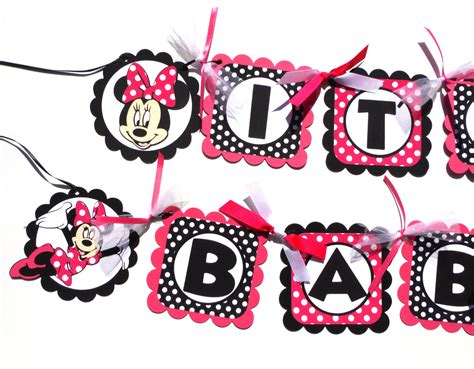 Baby Shower Minnie Mouse by Baby Minnie Mouse Invitations Baby Shower Clipart Panda