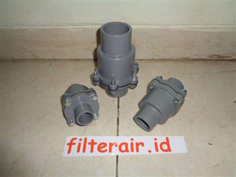 Klep Tabok Pompa jual check valve pvc harga murah surabaya oleh cv mitra water