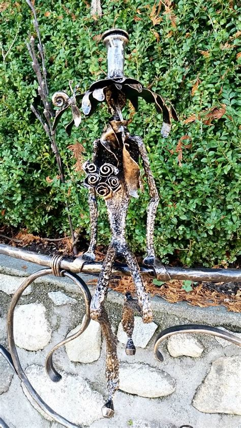 garden banister garden railing with sculpture br234 bc blacksmith