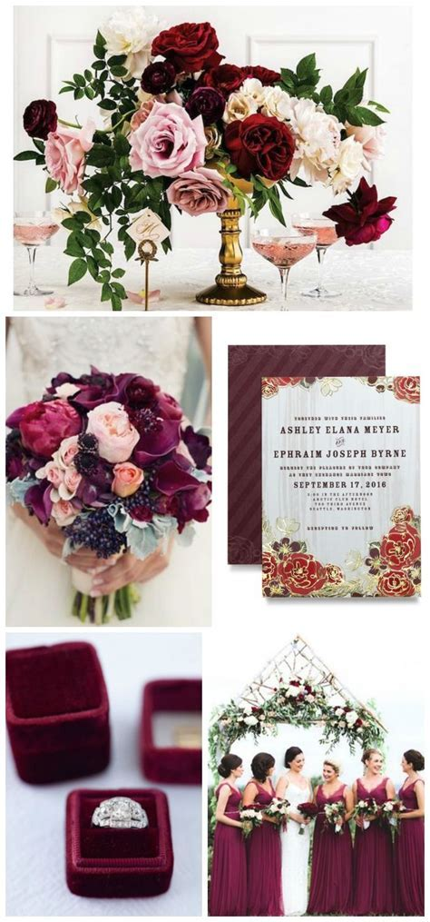 1000  ideas about Burgundy Wedding Colors on Pinterest
