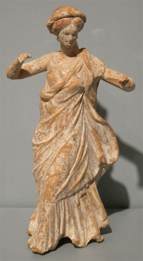 ancient greek woman statue file statuette of a dancing woman greece 4th century bce