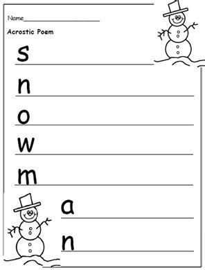 free printable christmas writing templates to encourage