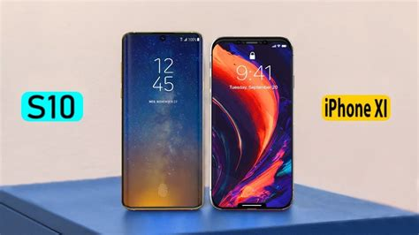 samsung galaxy   iphone xi comparison youtube