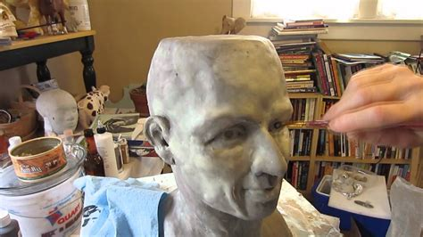 How To Make A Paper Mache Statue - paper mache part 1