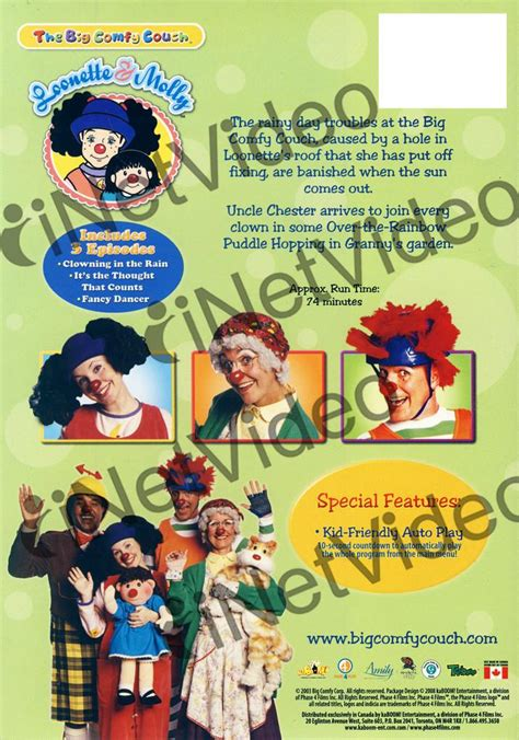 big comfy couch clowning in the rain the big comfy couch clowning in the rain on dvd movie
