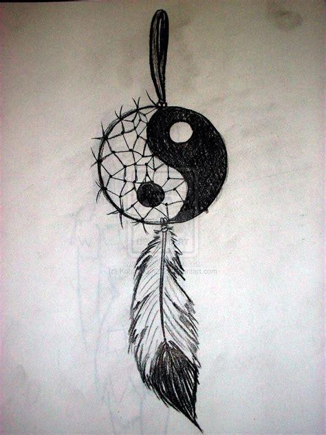 dreamcatcher tattoo hipster yin yang dream catcher tattoos pinterest dream