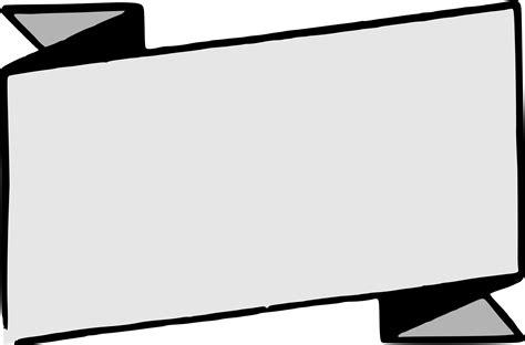 Clipart Banner Banner Template Transparent