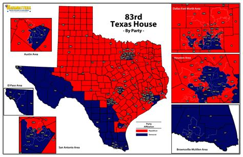 texas political map looking past the the texas house is blue