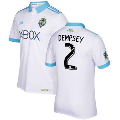 Diskon Jersey Bola Seattle Sounders 3rd Mls 2017 Grade Ori seattle sounders 2017 adidas white away jersey 1 football fashion org