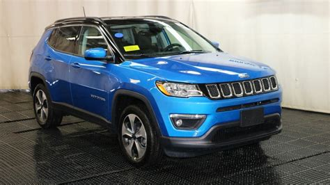 jeep compass 2018 interior sunroof 2018 jeep compass latitude sport utility in braintree