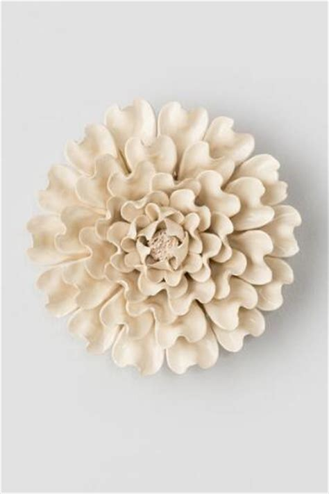 Ceramic Wall Flower Decor by Green Ceramic Wall Decor Flower S